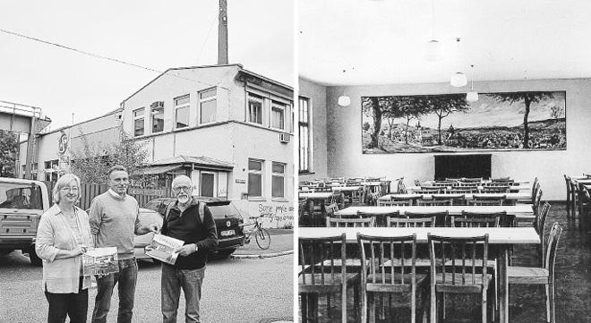 Die beiden veröffentlichten Schwarz-Weiss-Bilder