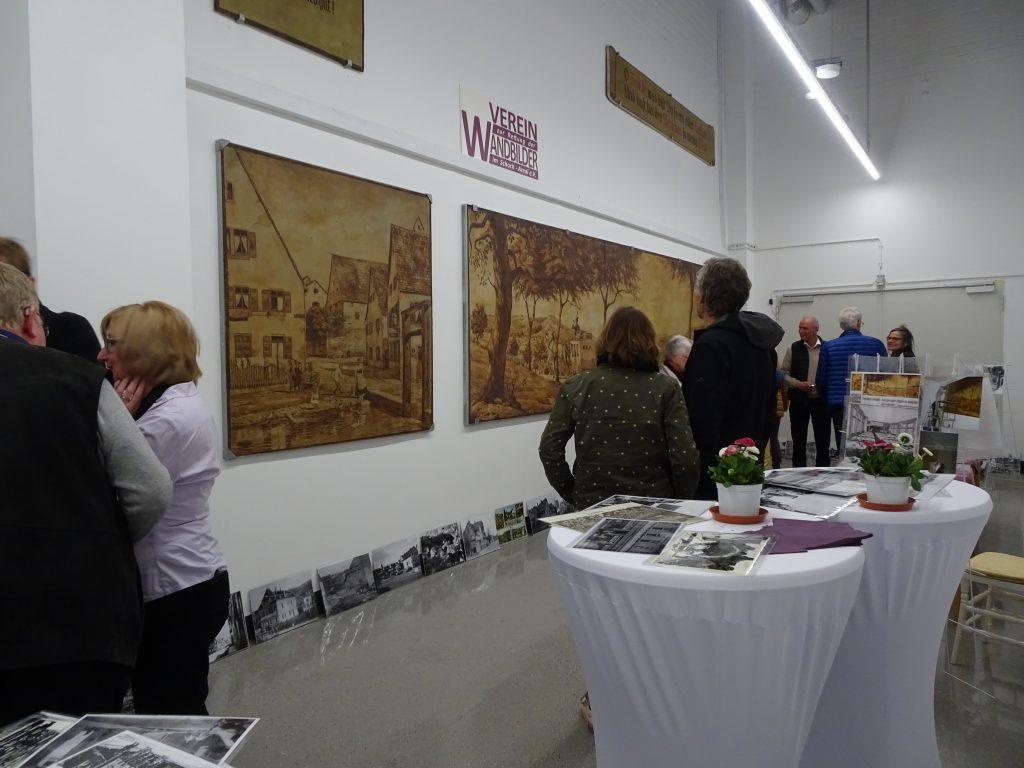 1. Präsentation aller Wandbilder im IW8