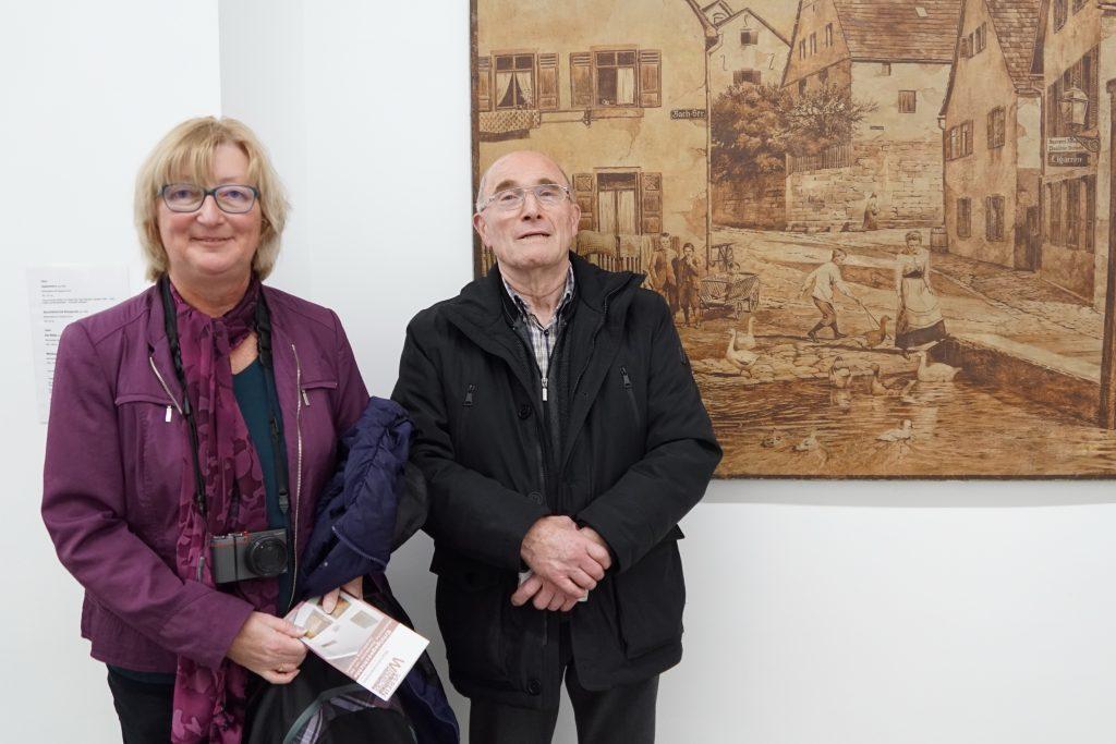 Bild Bürgerverein Feuerbach: Herr Walter Rieker (Archiv) und Frau Elke Thieme