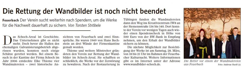 Presseartikel der STZN NordRundschau vom 03.03.2020